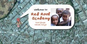 Red Roof Academy from the air